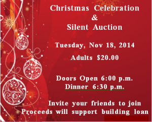 christmas dinner auction